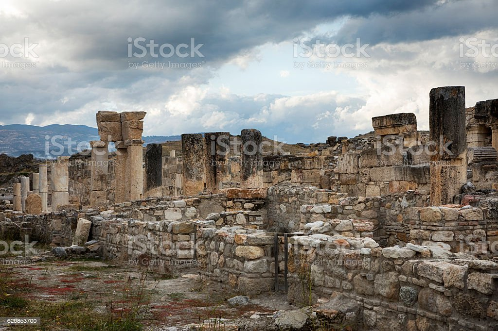 Tripolis, Denizli, Turkey stock photo