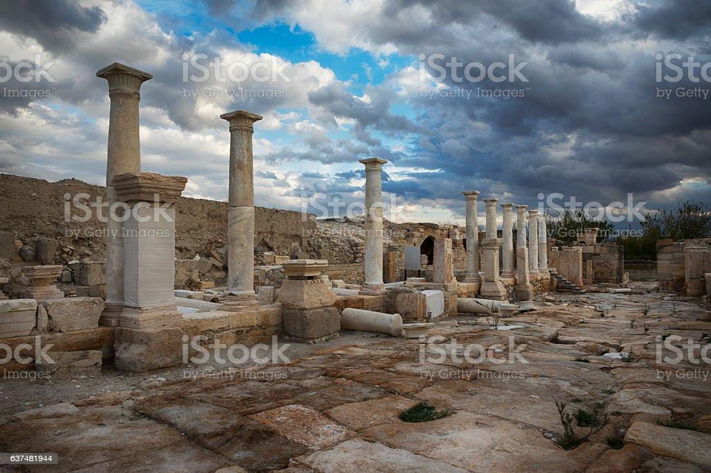 Tripolis, Denizli, Turkey stock photo