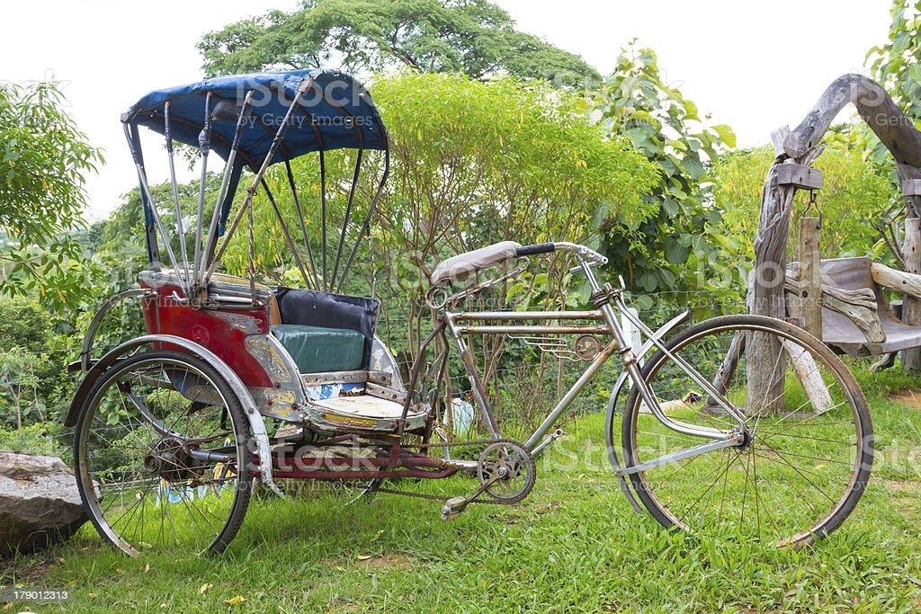 Trishaw royalty-free stock photo