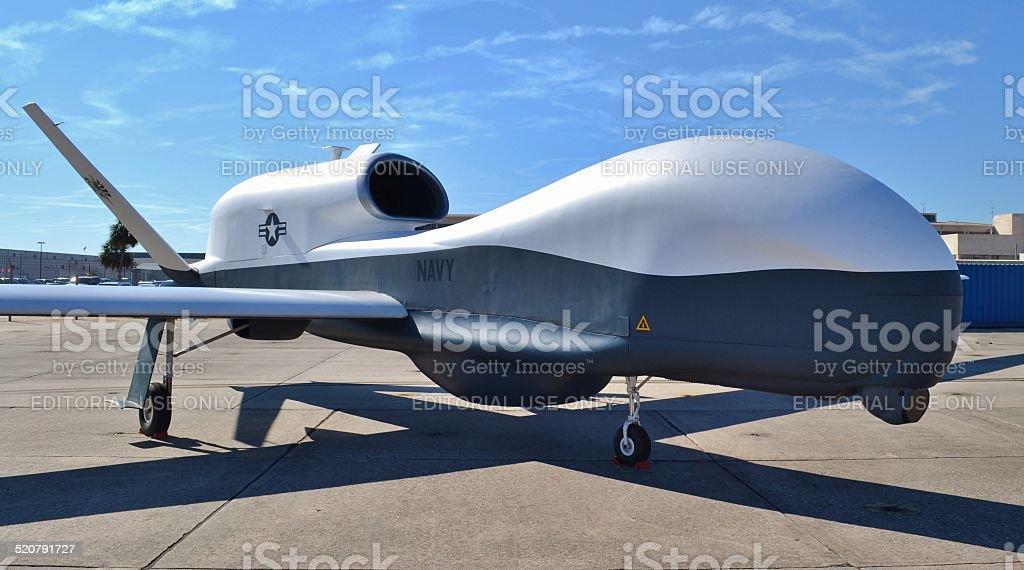 MQ-4C Triton Drone stock photo
