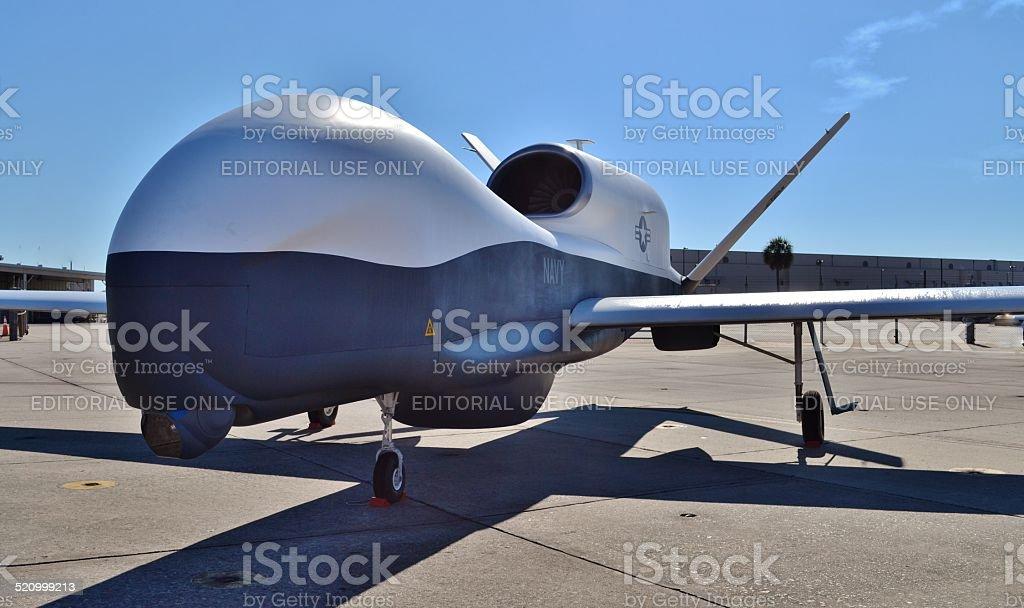 MQ-4C Triton Spy Plane stock photo