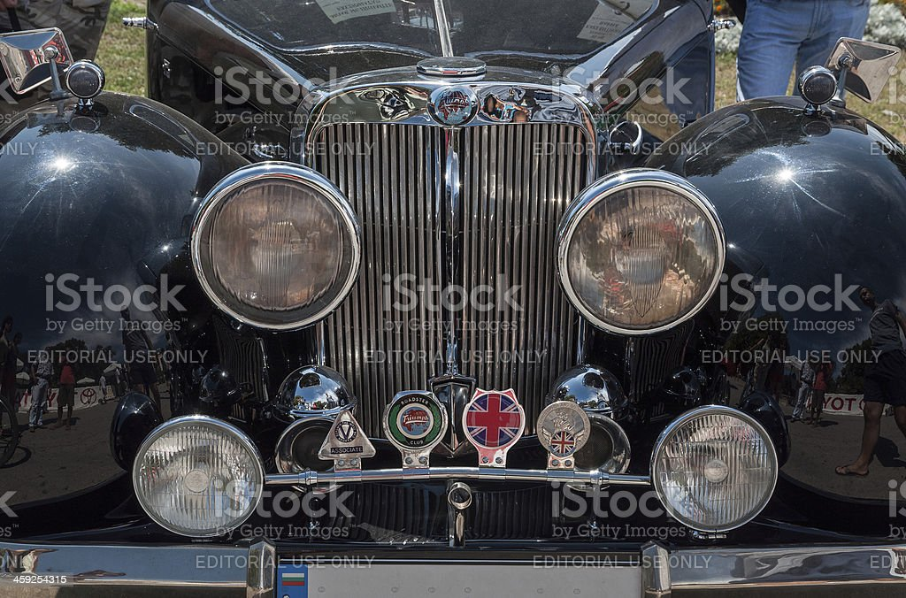 Triumph 2000 front royalty-free stock photo