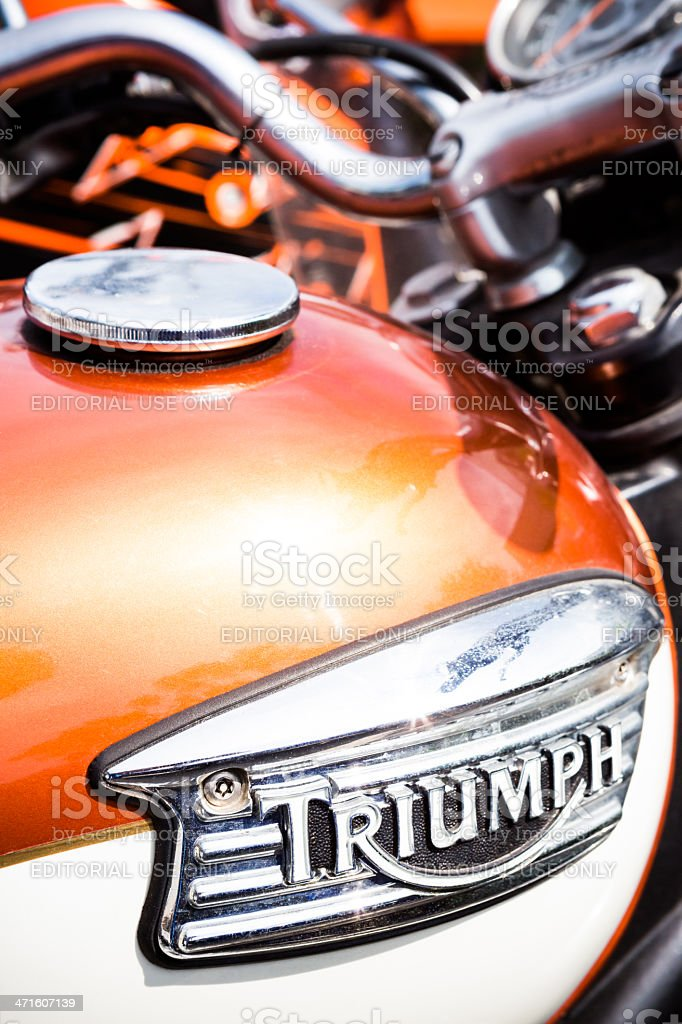 Triumph Detail logo royalty-free stock photo