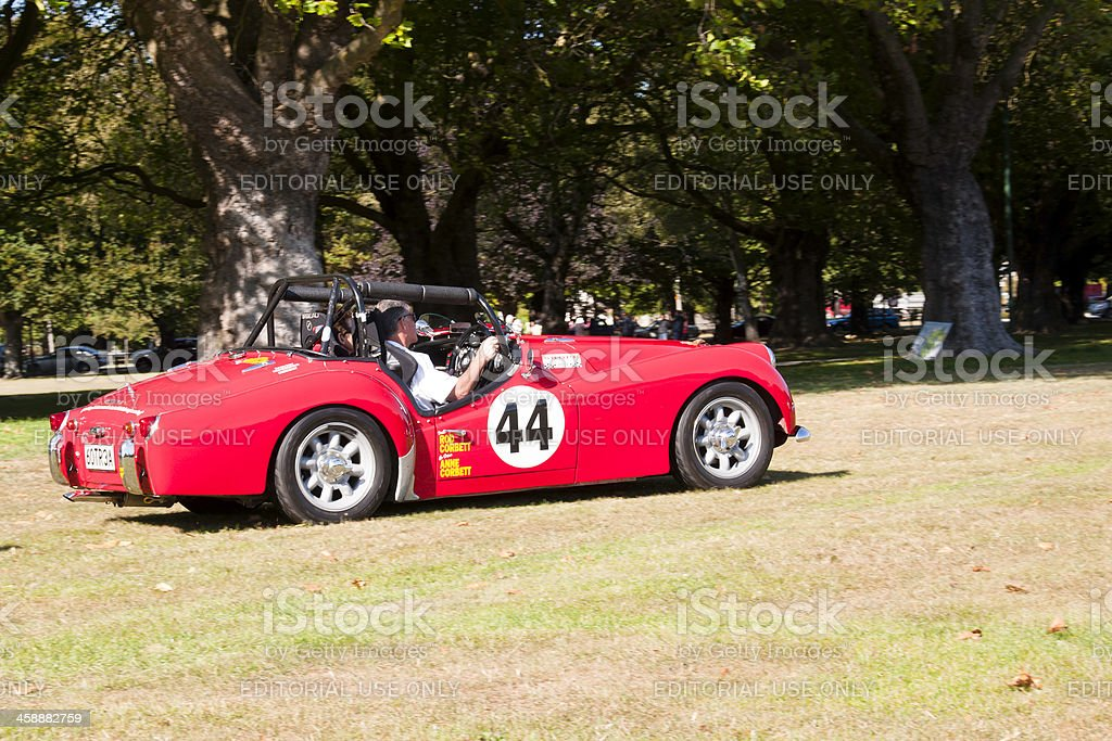 Triumph TR3A from 1961 royalty-free stock photo