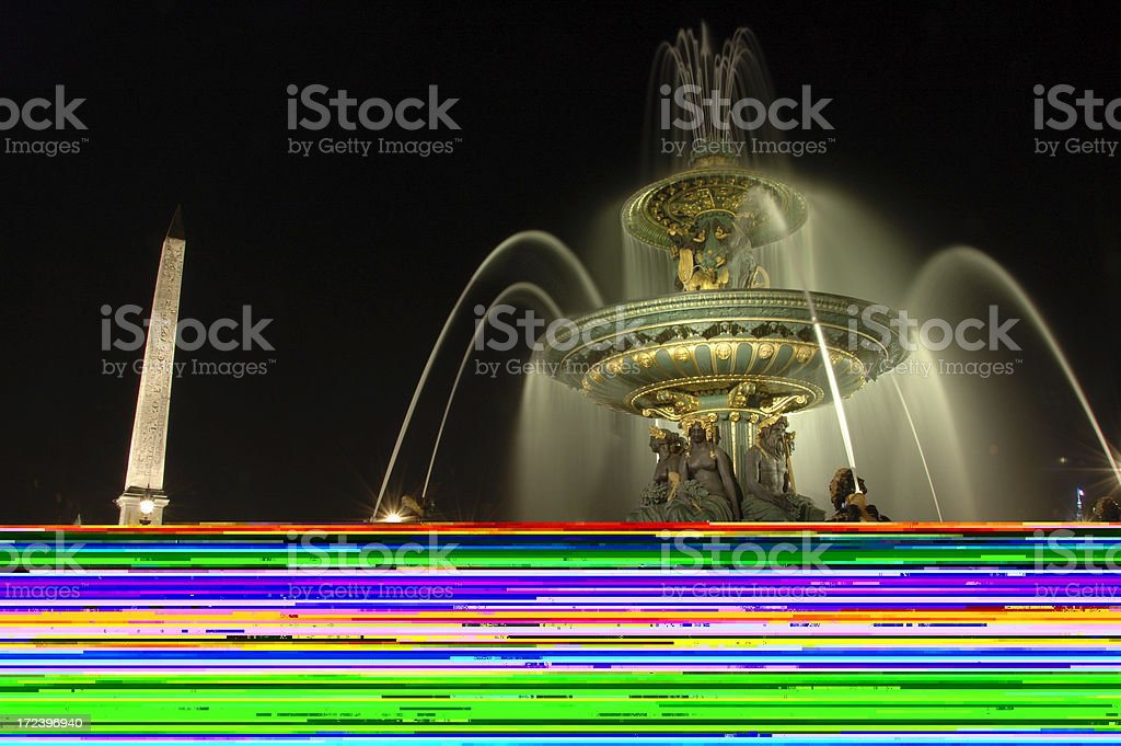 Arc de triomphe - Front view royalty-free stock photo