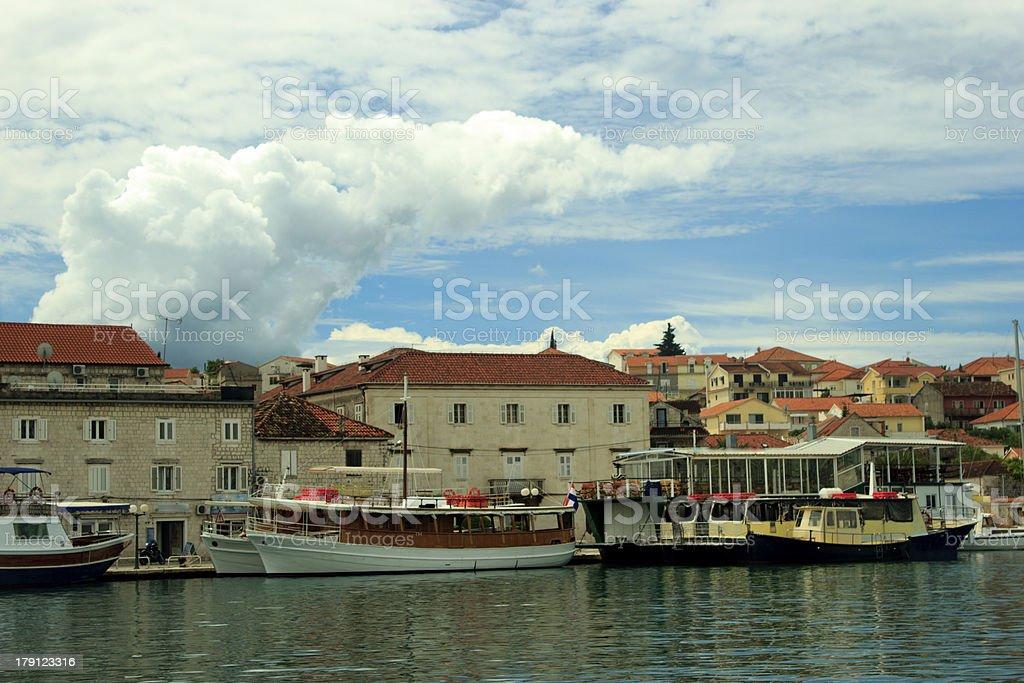 Trogir, Croatia cityscape royalty-free stock photo