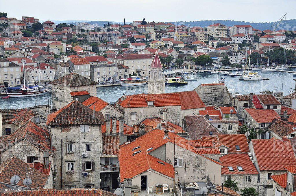 Trogir Croatia royalty-free stock photo