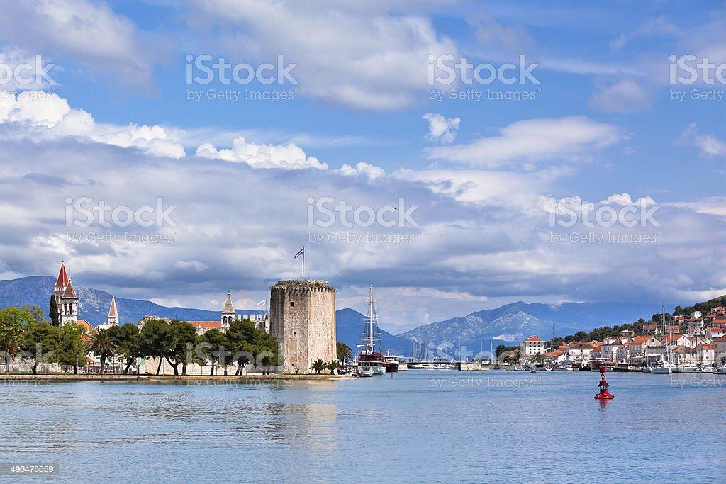 Trogir, Croatia view stock photo