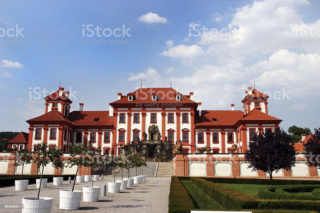 Troja Palace, Prague, Czech Republic royalty-free stock photo