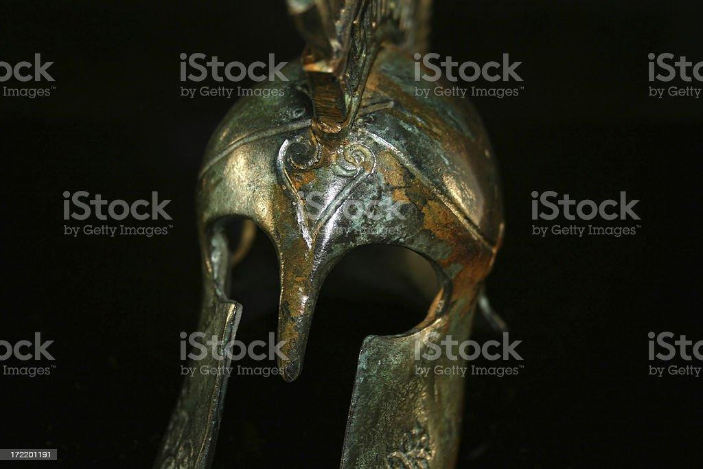 Trojan Helmet stock photo