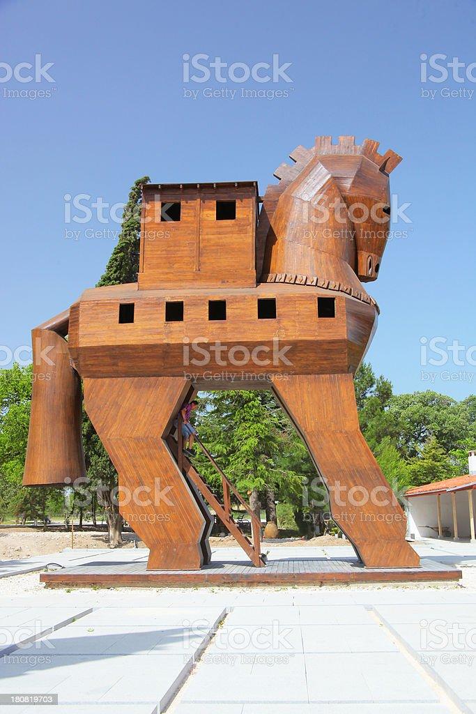 Trojan Horse royalty-free stock photo