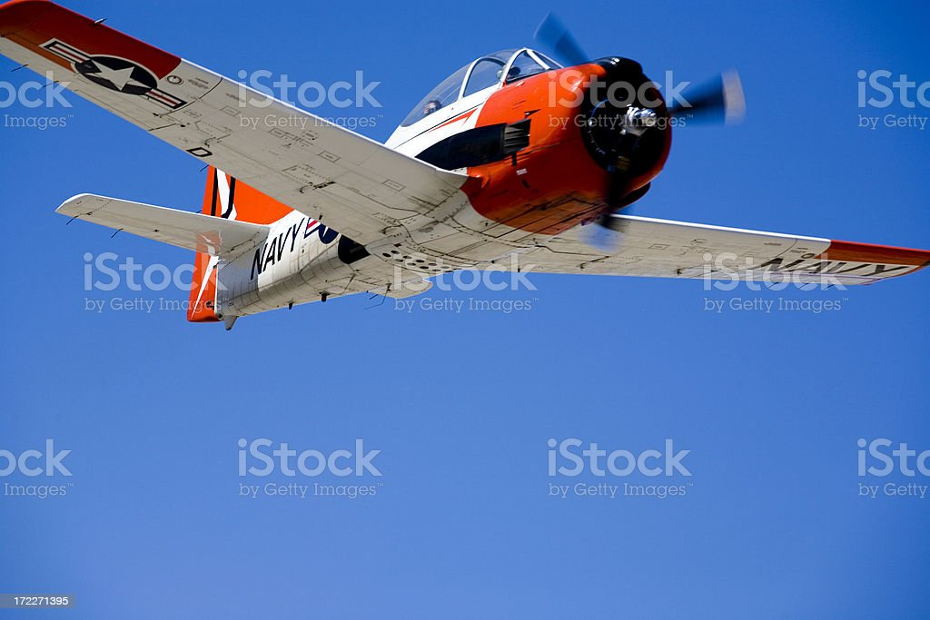 T-28 Trojan royalty-free stock photo