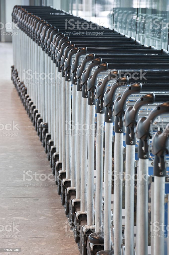 Trolley royalty-free stock photo