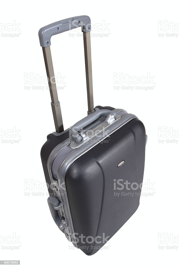 trolley suitcase royalty-free stock photo