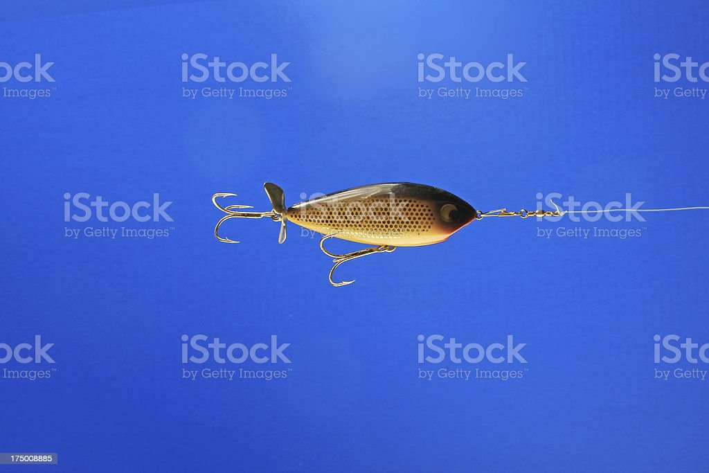 Trolling Fishing Lure royalty-free stock photo