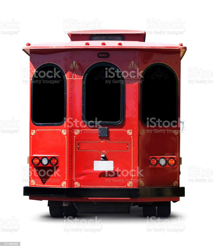 Trolly — Clipping Path royalty-free stock photo