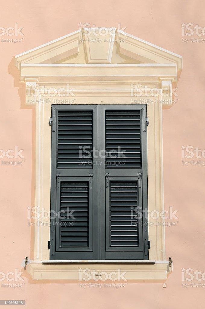 trompe l'oeil, Liguria stock photo