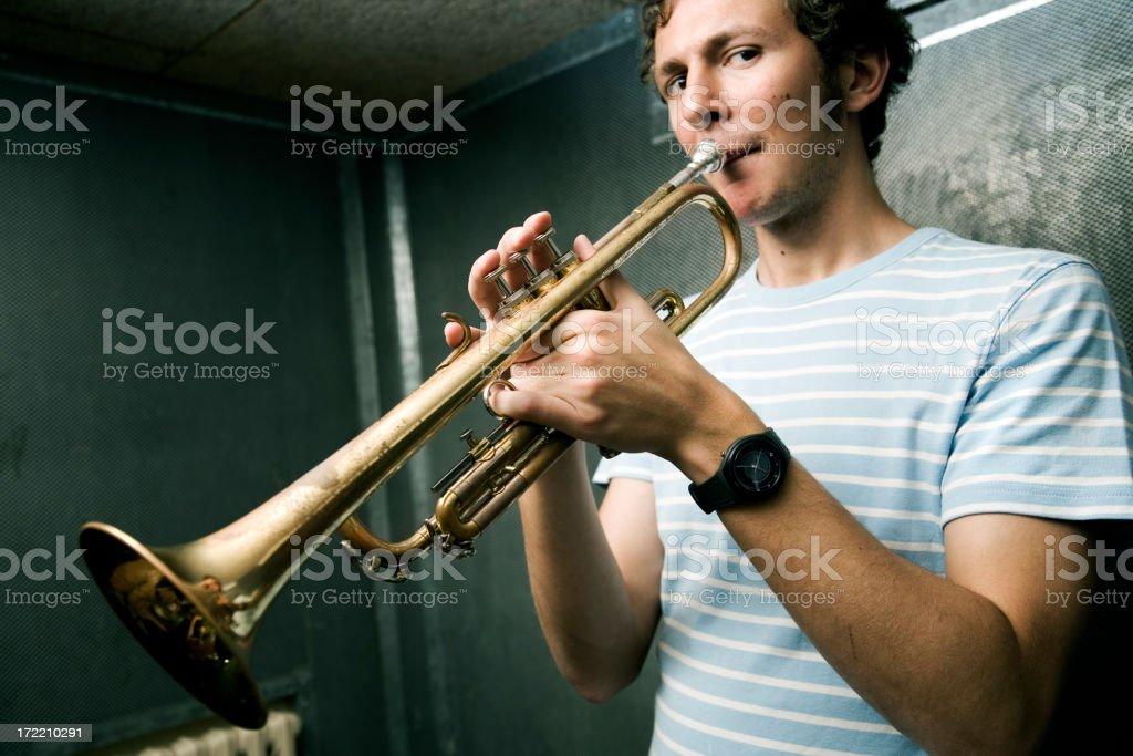 Trompis royalty-free stock photo