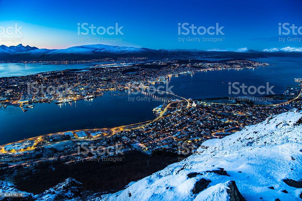 Tromso Norway stock photo