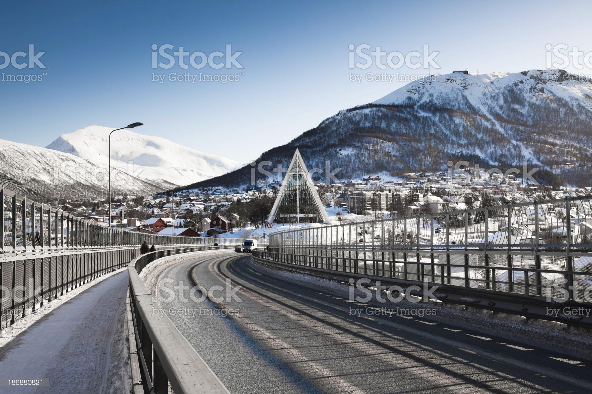 Tromso royalty-free stock photo