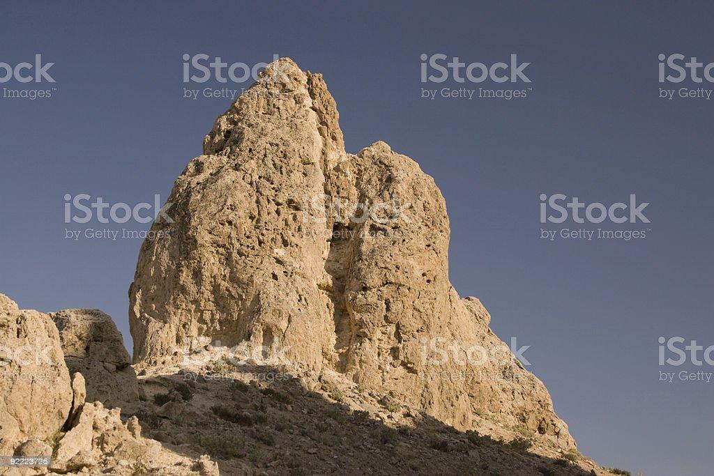 Trona Pinnacles royalty-free stock photo