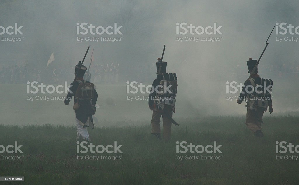 Troopers royalty-free stock photo