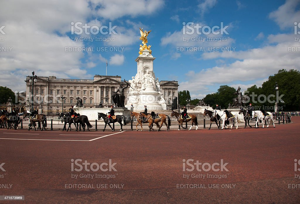 Trooping of the Colour royalty-free stock photo