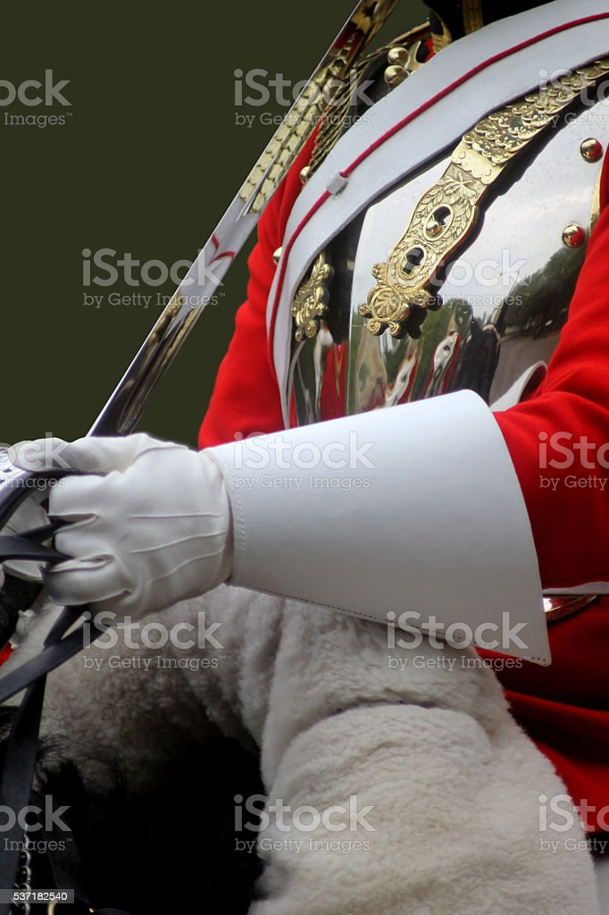 Trooping Of The Colour stock photo
