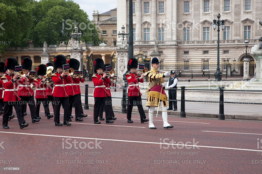 Trooping the Colour stock photo