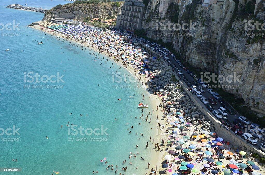 Tropea, Italia stock photo