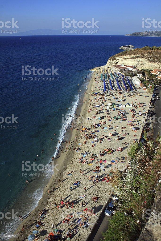 Tropea Sea royalty-free stock photo