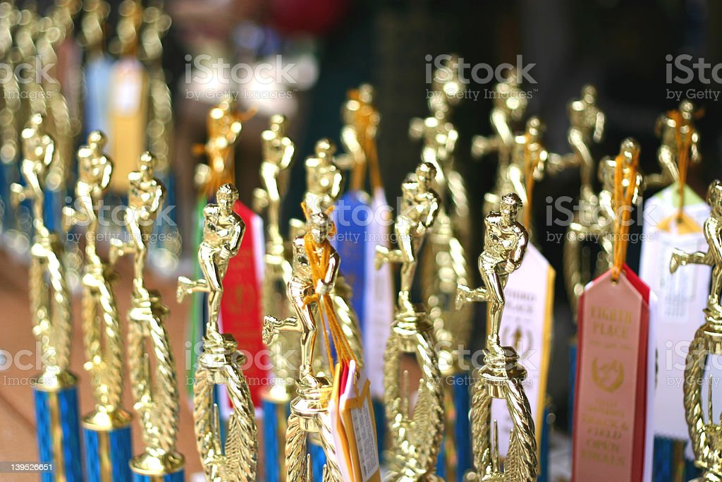 Trophies 2 royalty-free stock photo