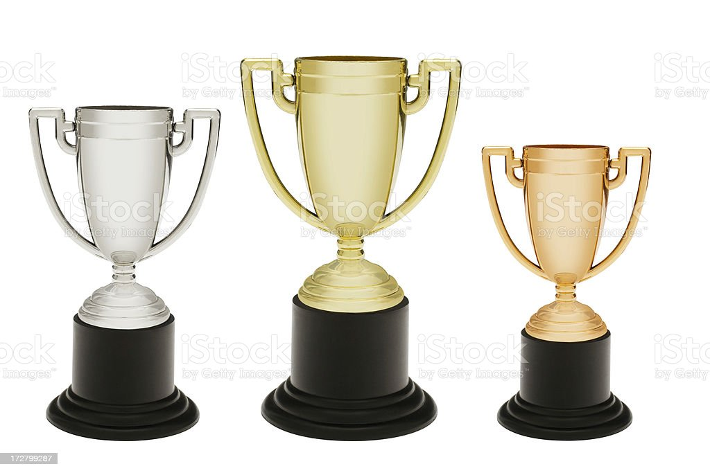 Trophies royalty-free stock photo