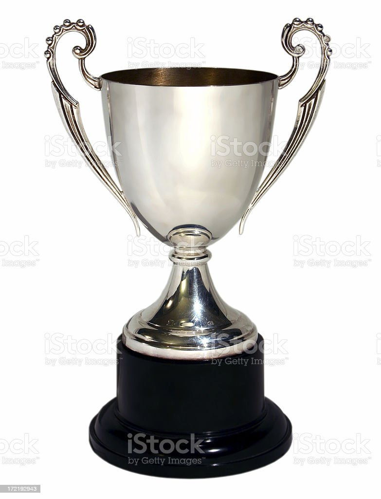 trophy 3 royalty-free stock photo