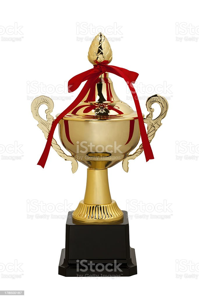Trophy cup royalty-free stock photo