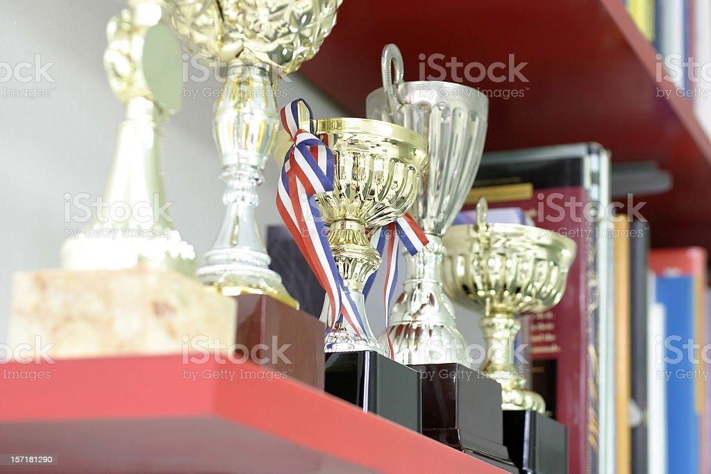 Trophy Display stock photo