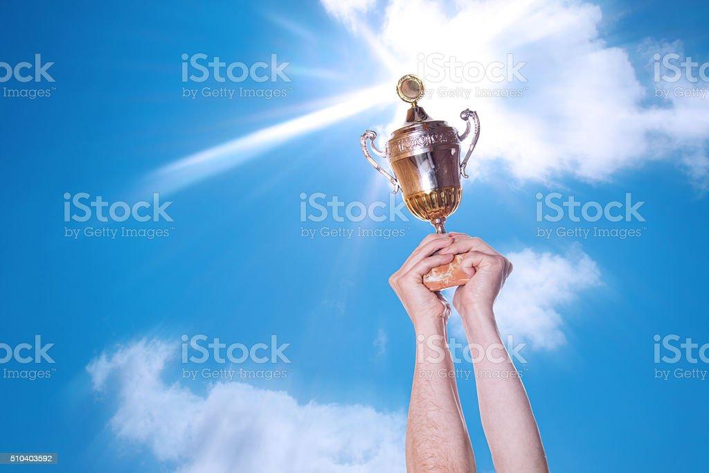 trophy stock photo