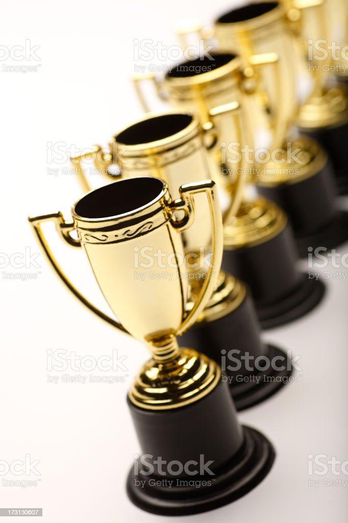 Trophy's royalty-free stock photo