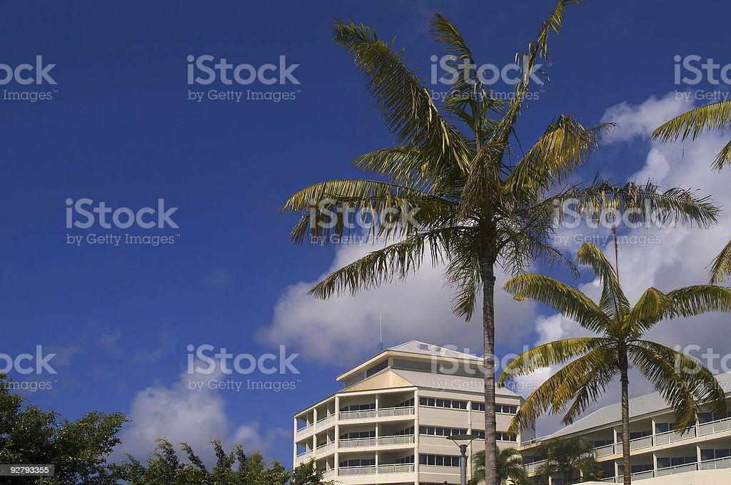 Tropic Hotel stock photo