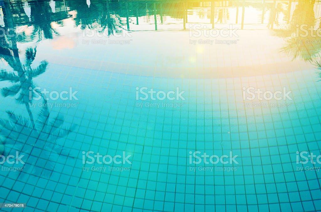 tropic pool stock photo