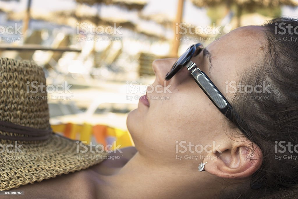 tropic relaxation royalty-free stock photo
