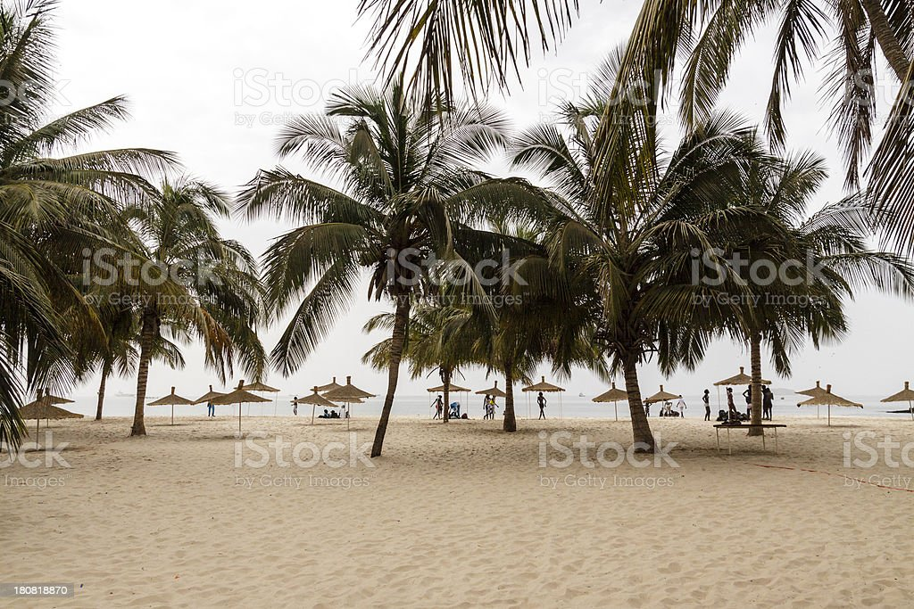 Tropical Africa stock photo