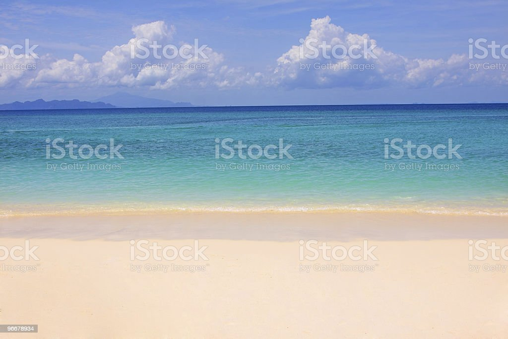 Tropical beach, Andaman Sea,Thailand royalty-free stock photo