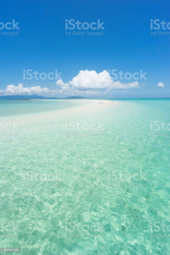 Tropical beach paradise of Okinawa, Japan Lizenzfreies stock-foto