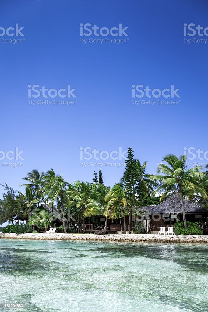 Tropical Beach Paradise royalty-free stock photo