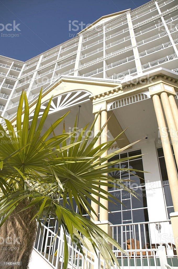 Tropical Beach Resort royalty-free stock photo