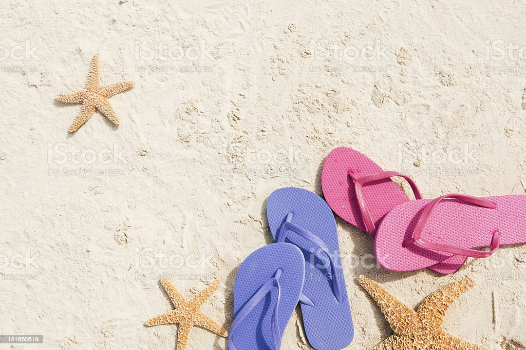 Tropical Beach Vacation Background royalty-free stock photo