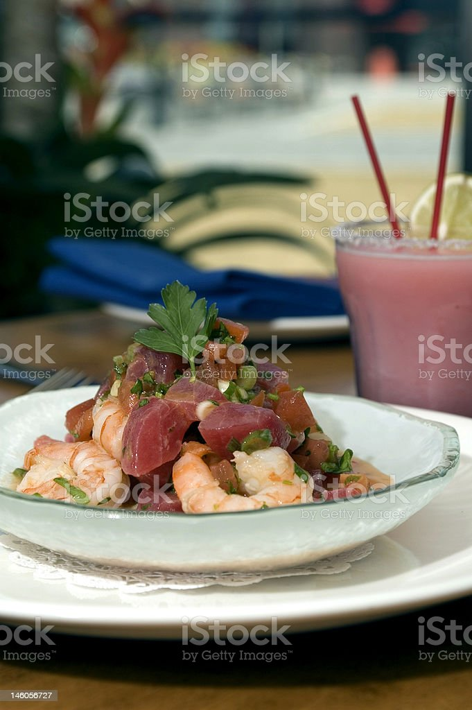 Tropical Ceviche 3 royalty-free stock photo