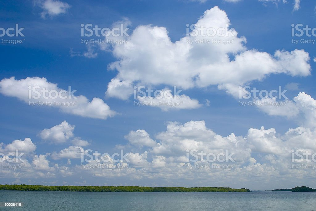 Tropical Clouds stock photo