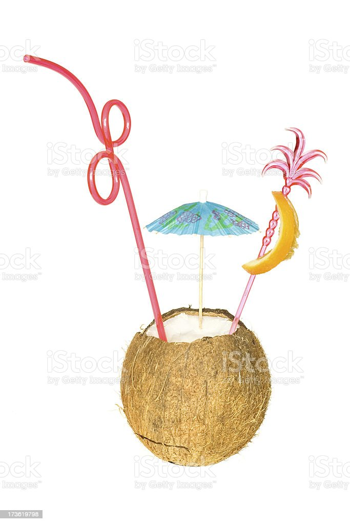 Tropical Cocktail royalty-free stock photo